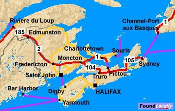 PEI's portion of the Trans-Canada