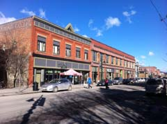 Fernie's historic 2nd Ave Shopping District