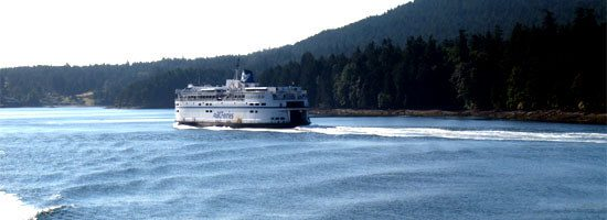 BC Ferries ferry just off Horshoe Bay