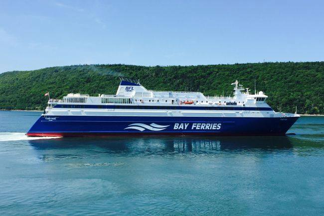 Fundy Rose Ferry