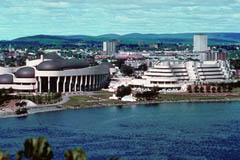 The Museum of Civilization, in Hull across from Ottawa's Parliament Buildings
