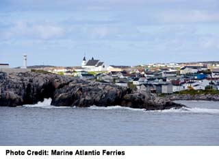 Port-aux-Basques view of Ferry terminal