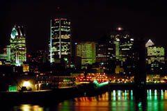Montreal city lights