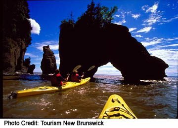 Hopewell Rocks in Fundy National Park