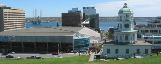 Halifax Waterfront, as viewed from Citadel