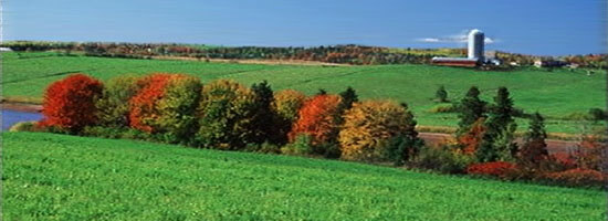 Shubanacadie Farmland in central Nova Scotia