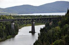 High Railway Bridge at White River
