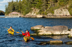 Kayaking in Thousand Island National Park