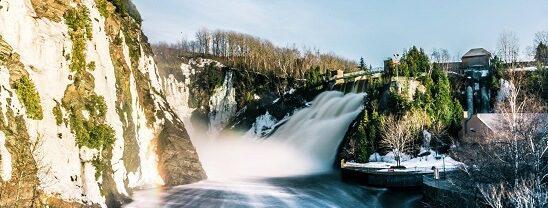 Riviere du Loup waterfalls