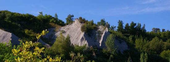 Scarborough is best known for its lakeside bluffs