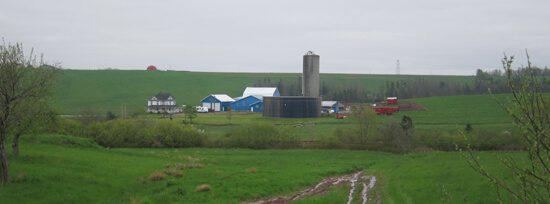 Nova Scotia farmland near Truro