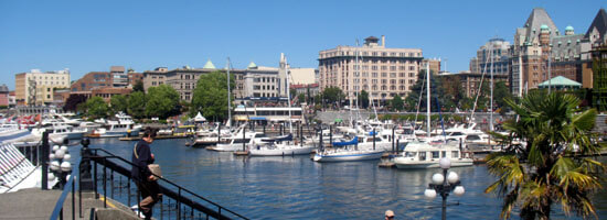 Victoria Inner harbour view