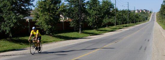 one of York Region's quiet rural roads