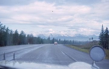 View of Banff in the 1960s
