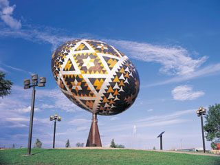 World's Largest Easter Egg, in Vegreville