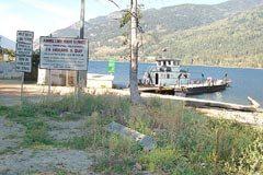Adams Lake ferry