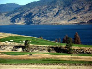 Luxury Golf Course on the highway, just west of Kamloops, overlooking the Thompson River