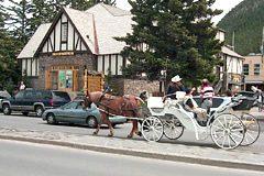 Take a carriage ride around town