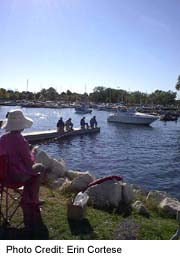 Fishing boats at Barrie