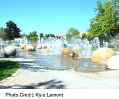 Barrie's Heritage Fountain