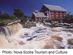 Woolen Mill Museum at Barrrington, Nova Scotia