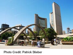 New City Hall with Nathan Phillips Square