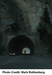 China Gate Tunnel, near Boston Bar