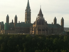Parliament Hill View, from Nepean Point