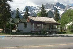 Northwest Mounted Polic Barracks in Canmore