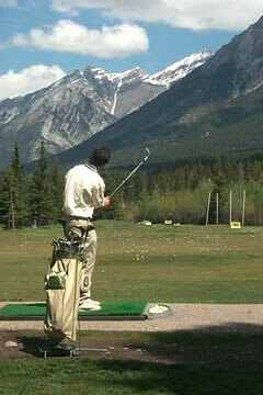 Beautiful Canmore Golf and Country Club