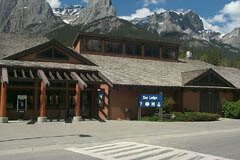 Canmore Nordic Centre, used for mountain biking in the summer