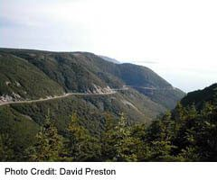 Cabot Trail adn the Skyline Trail