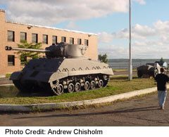 the Armoury is where PEI's soldiers trained for the two world wars