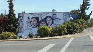 Chemainus has many beautiful murals