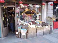 Interesting shops in Chinatown