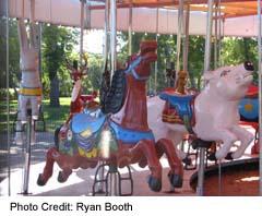 Saskatoon's City Park Kinsmen Park rides