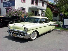 Classic cars of the 1950s