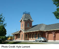 Collingwood's historical train station