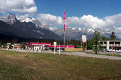 Deadman Flats is a popular rest and gas stop