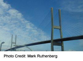 Alex Fraser Bridge (Annacis Bridge over the Fraser, at Delta