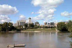 Downtown Winnipeg, Riverside by The Forks