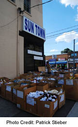Eglinton and Dufferin - Suntown Clothing store