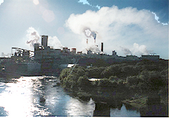 THe Domtar Mill in Espanola