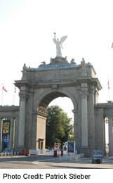 Princess Gates at the Exhibition Place