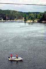 Fisheman on White Lake