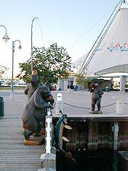 Fishing Bears at Bondar Park