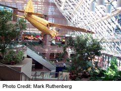 Float Plane, inside the Petro-Canadahead office in Calgary