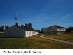 Fort York, View With Soldiers