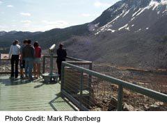 Frank Slike Observation deck by Visitor Centre