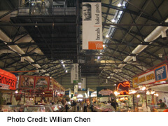 St Lawrence Market on Front Street